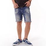 Damage Denim Shor Pants Shorts
