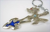 Souvenir Dragon Attached Watermark Key Ring