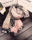 【春めき】スカーフ 肩掛け 二色 イエロー ピンク