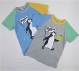 Jersey Stretch Penguin Short Sleeve T-shirt
