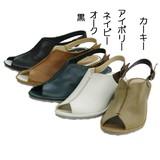 《超特価品》メチャソフト本革のおしゃれサンダル!!