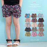 Multi Pattern Cotton Shor Pants Type Girls