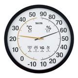 <インテリア・バラエティ雑貨><温湿度計>タニタ 温湿度計 TT-554-BK