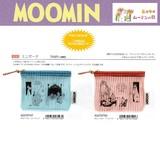 【予約販売】7月10日締切 ムーミン ミニポーチ Mini Pouch  フラットタイプでちょうど良いサイズ!