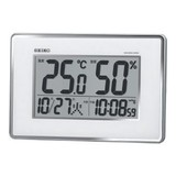 <インテリア・バラエティ雑貨><温湿度計>セイコー 温度湿度計付電波時計 SQ437S