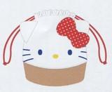 【サンリオ】巾着カゴ風バッグ