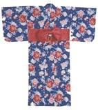 【サンリオ】大人婦人用浴衣(結び帯)