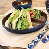 【新商品】新しくなったワンダフルシリーズ 厚みのある木目調の食器 ランチプレート 日本製
