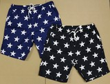 2017 Summer Star Pattern Print Shor Pants
