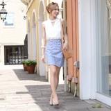 Bijou Tweed Card Skirt
