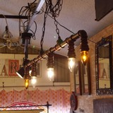 アイアンパイプ5灯ランプ