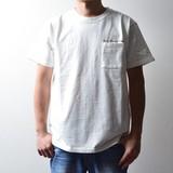【2017年SS新作】ピグメント刺繍半袖Tシャツ