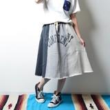 2017 S/S Ladies Fleece Remake Flare Skirt