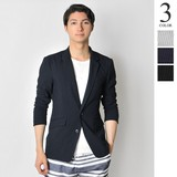 S/S Stretch Soccer Good Tailored Jacket Men's Long Sleeve Suit Set