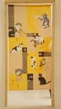 Japanese Noren Curtain Japanese Style Pasting