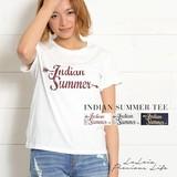 Indian SummerロゴTシャツ【 SSセール 】