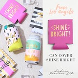 《LAインポート》ドリンクカバー/Can Cover shine bright