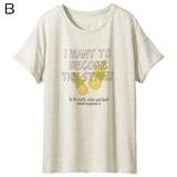 衿ぐりデザインが選べるプリントTシャツ 【大きいサイズも展開】