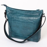 Shoulder Bag Cow Leather Push Genuine Leather