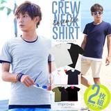 【improves】2枚セットアンサンブルレイヤードTシャツ