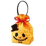 Pumpkin Ribbon Skull Handle Halloween Wrapping
