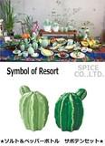 【先行予約】【先行予約】Symbol of Resort ソルト&ペッパーボトル サボテン