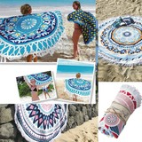 Round Towel Turkey Round Towel Vivid Color