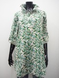 Cotton Wire Floral Pattern Tunic