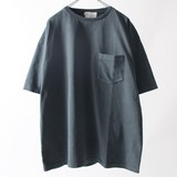 【2017SS新作】ピグメント ポケット付 半袖Tシャツ