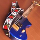 チロルのギターストラップ【日本製】  エレキギター   ベース   アコースティックギター  