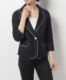 コードレーン7分袖ジャケット