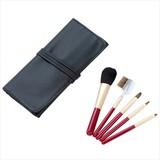 熊野化粧筆セット(ケース付き)(黒) /名入れ可 美容 極上 ノベルティ ギフト