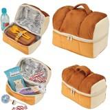 【キュート!パンの保冷バッグにお菓子をつめて♪】パン保冷バッグランチバッグ&お菓子ポーチ