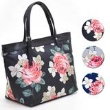 花柄ハンドバッグ<ブルーミーローズ> 低価格帯