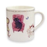 Ribbon Cat Mug Ribbon cat