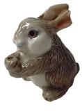[エスニック雑貨]アニマルのお香立て/ウサギ(2色)