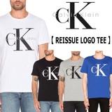☆再入荷☆ CALVIN KLEIN【カルバンクライン】REISSUE LOGO 半袖Tシャツ (5色)