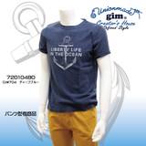 【2017年夏物新作】【gim】スペック天竺アンカープリントTシャツ (72010480)