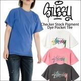 STUSSY 【 ステューシー 】 CHECKER STOCK 半袖 Tシャツ (全4色)