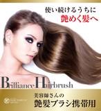 【日本製】美容師さんの艶髪ブラシ 携帯用