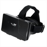 VRゴーグル(黒)/名入れ可 スマホ バーチャルリアリティ 3D映像 携帯 ノベルティ