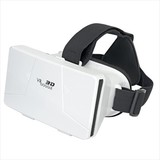 VRゴーグル(白)/名入れ可 スマホ バーチャルリアリティ 3D映像 携帯 ノベルティ