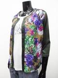 Lace Flower Print Cardigan