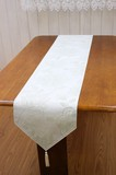 Floral Pattern Card Water-Repellent Processing Table Runner