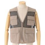 Effect Pocket Mesh Vest