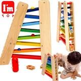 「知育玩具」(木のおもちゃ) I'mTOY「3wayスライダー」