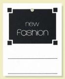 高級糸付提札(糸付値札) new fashion