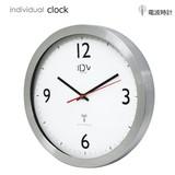 【秒針がスイープ機能です】IDV ラジオコントロールクロック 掛け時計 電波時計 スイープ時計