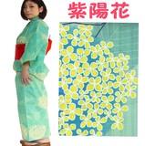 レデイーズ 浴衣セット  紫陽花    161-1200-2