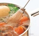 メディア掲載多数!【お鍋料理の必需品♪マーナキッチングッズ】あくとりブラシ
